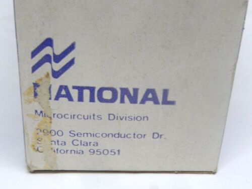 National LH0002CH Semiconductor 8 Pin Gold Lead  High Speed Buffer