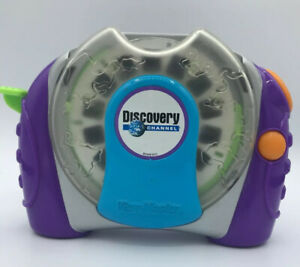 View-master-3D-Talking-Discovery-Channel-Viewer-Purple-Green-Blue-Orange-Tested