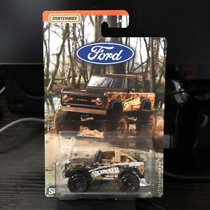 Matchbox-2019-Ford-Trucks-Series-039-72-Ford-Bronco-4x4-Brand-New