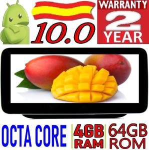 "10,25"" ANDROID 10.0 MERCEDES CLS CLASE C CARPLAY COCHE GPS RADIO 4GB RAM 4GB RAM"