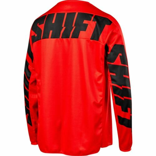 Shift WHIT3 York Red Jersey Motorcycle MX ATV Jersey 21707-003