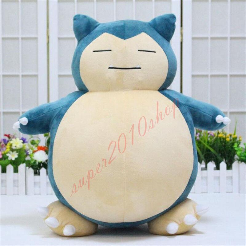 32  Giant Snorlax Plush Kabigon OA doll anime GO Pillow soft toys gift 80cm