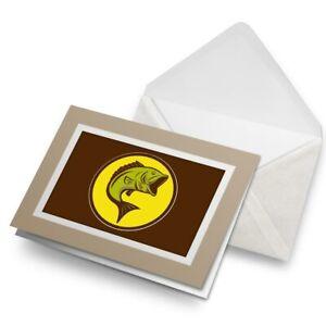 Greetings-Card-Biege-Awesome-Yellow-Fish-Cartoon-9117