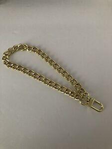 2x Fashion Replacement Wrist Strap Clutch Wristlet Purse Coin Bag Chain 25cm