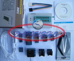 New Design TL866II Plus High Performance USB Programmer with 9 Adapters