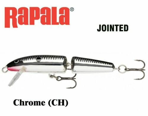 18 g Floating New Running depth 1.2-2.4 m 13 cm RAPALA Jointed J13CH Chrome