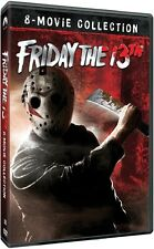 Friday the 13th: Complete Horror Movies Series 1 2 3 4 5 6 7 8 Boxed DVD Set NEW
