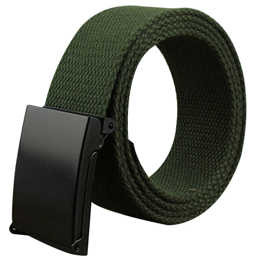 Belt Fabric Belt Plus Size 4cmx116cm Womens Belt Mens Belt Metal Buckle