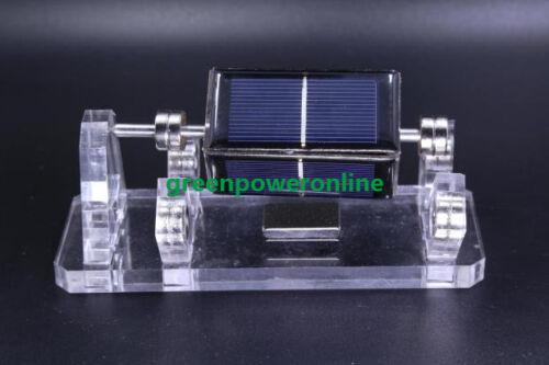 Solar Mendocino Motor Magnetic Levitating Educational model ST04 Video Show G