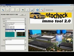 Détails sur Software OtoCheck 2 0 Immo Reset Cleaner Immobilizer Repair Tool