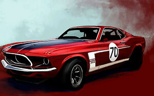 American Muscle Cars Mustang