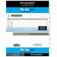 2022 Daily Planner Refill By At A Glance 14010 Day Timer 8 12 X 11 Size 5