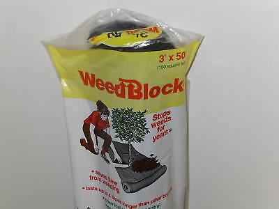 50 Weed Block Landscape Garden Fabric, Easy Gardener Weed Block
