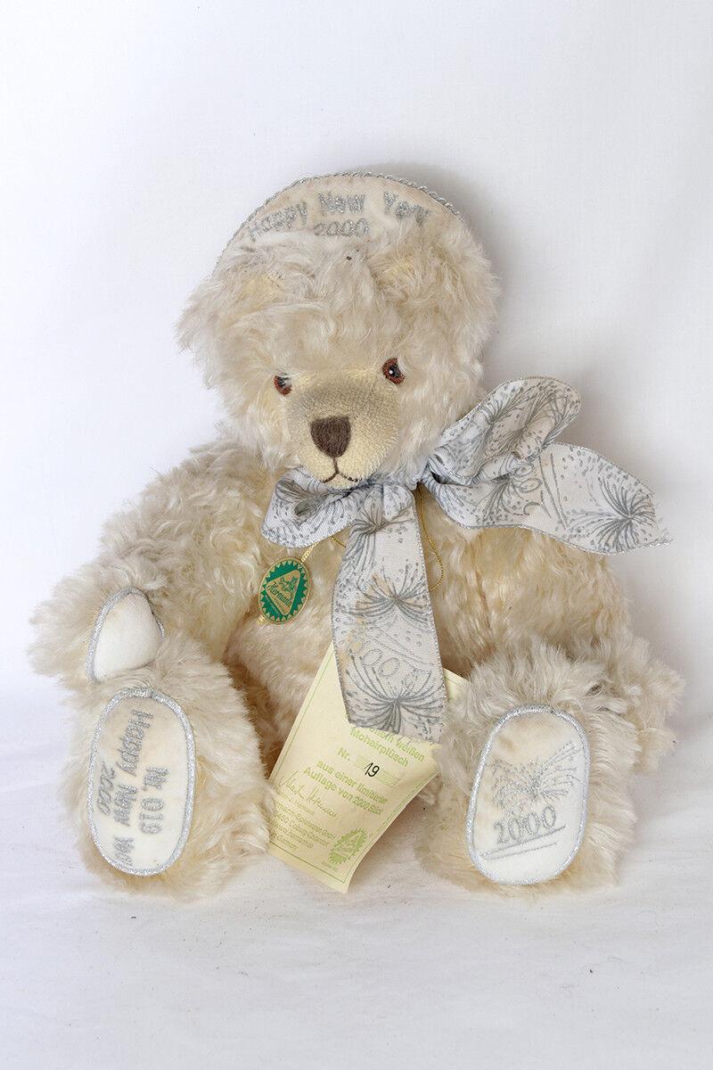 OURS PELUCHE TEDDY BEAR  HERMANN HAPPY NEW YEAR 2000 19 / 2000