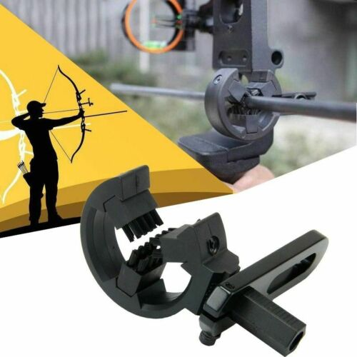 Black Whisker Arrow Rest Biscuit Brush for Compound Bow HuntingUS Shipping