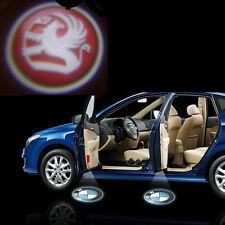 Vauxhall 12V Car Logo Cree LED Ghost Shadow Door Light Laser Kit Set Pair