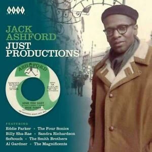 JACK-ASHFORD-JUST-PRODUCTIONS-Various-NEW-amp-SEALED-CD-60s-70s-SOUL-NORTHERN-KENT