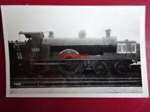 PHOTO  DARKROOM - LNWR PRECURSOR CLASS LOCO NO 1650 RICHARD TREVITHICK