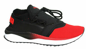Red Jr Textile Trainers 365113 01 B22A