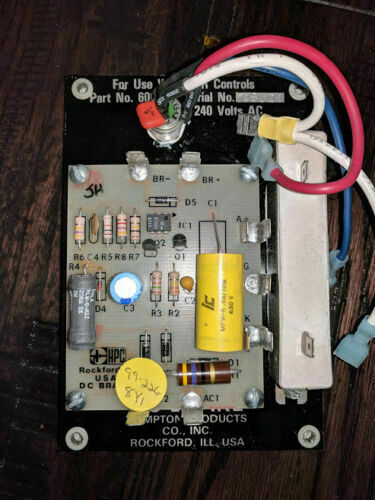 s6,l4 Mint Condition HPC 600302 SCR Controls DC Brake