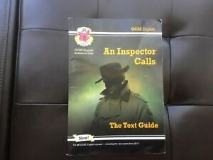 Details about Grade 9-1 GCSE English Text Guide - An Inspector Calls    by  CGP Books Paperback