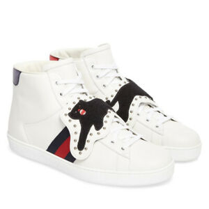Gucci Ace High-top Trainer Black