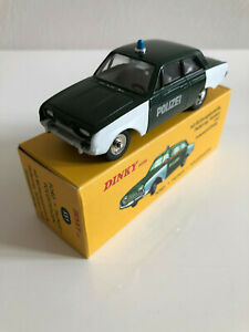 1-43-Dinky-Toys-Atlas-Voiture-Miniature-Ford-Taunus-Polizei-551-Collection-Neuf