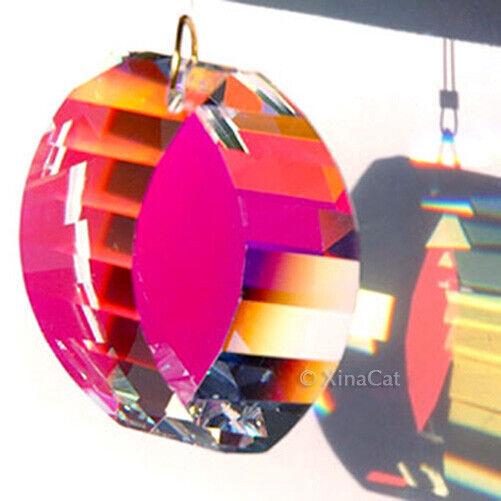 Swarovski 8950-0031-38mm Crystal Clear AB View Energy Gate Prism WOW 1-3/8 inch