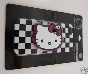 for-iphone-5-phone-case-Hello-Kitty-black-white-checker-mirror-fits-i-phone-5