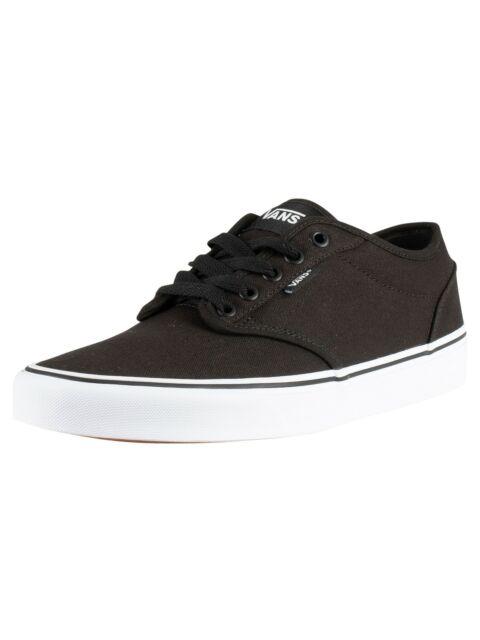 VANS Vtuy187 Mens Atwood Canvas Skate Shoes Black/white 10 DM US for sale  online | eBay