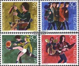 Schweiz-1431-1434-kompl-Ausg-gestempelt-1990-Pro-Juventute