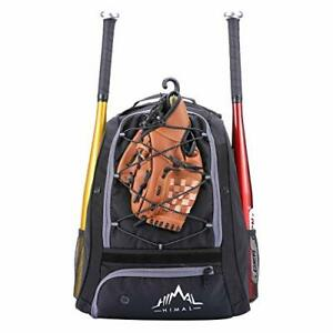 Outdoors Baseball Bag - Backpack for Youth and Adults, Softball Equipment Bags