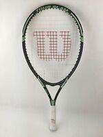 Wilson Tennis Racquet Wilson Tour Slam Tennis Racquet Green Grey