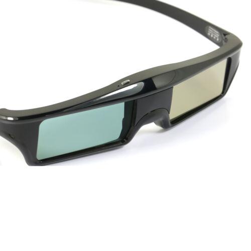 2X USB Wiederaufladbar 3D Brille Blue-tooth RF for Epson 3LCD Beamer and 3DTV DE