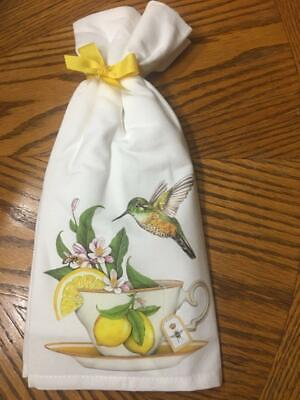 "Mary Lake Thompson /""Sweet Lemon Tea/"" Flour Sack Towel"