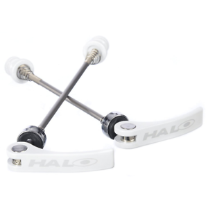 Halo Porkies Quick Release Skewers Set for Front 100mm and Rear 135mm Hubs