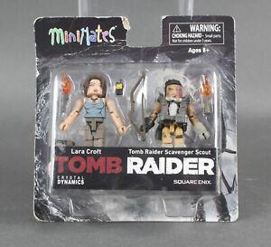 Diamond-Select-TOMB-RAIDER-LARA-CROFT-amp-Tomb-Raider-Scavenger-Scout-minimate-57-V
