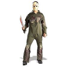 Men's Jason Deluxe Costume - Licensed Super Voorhees Friday 13th Mens Adult