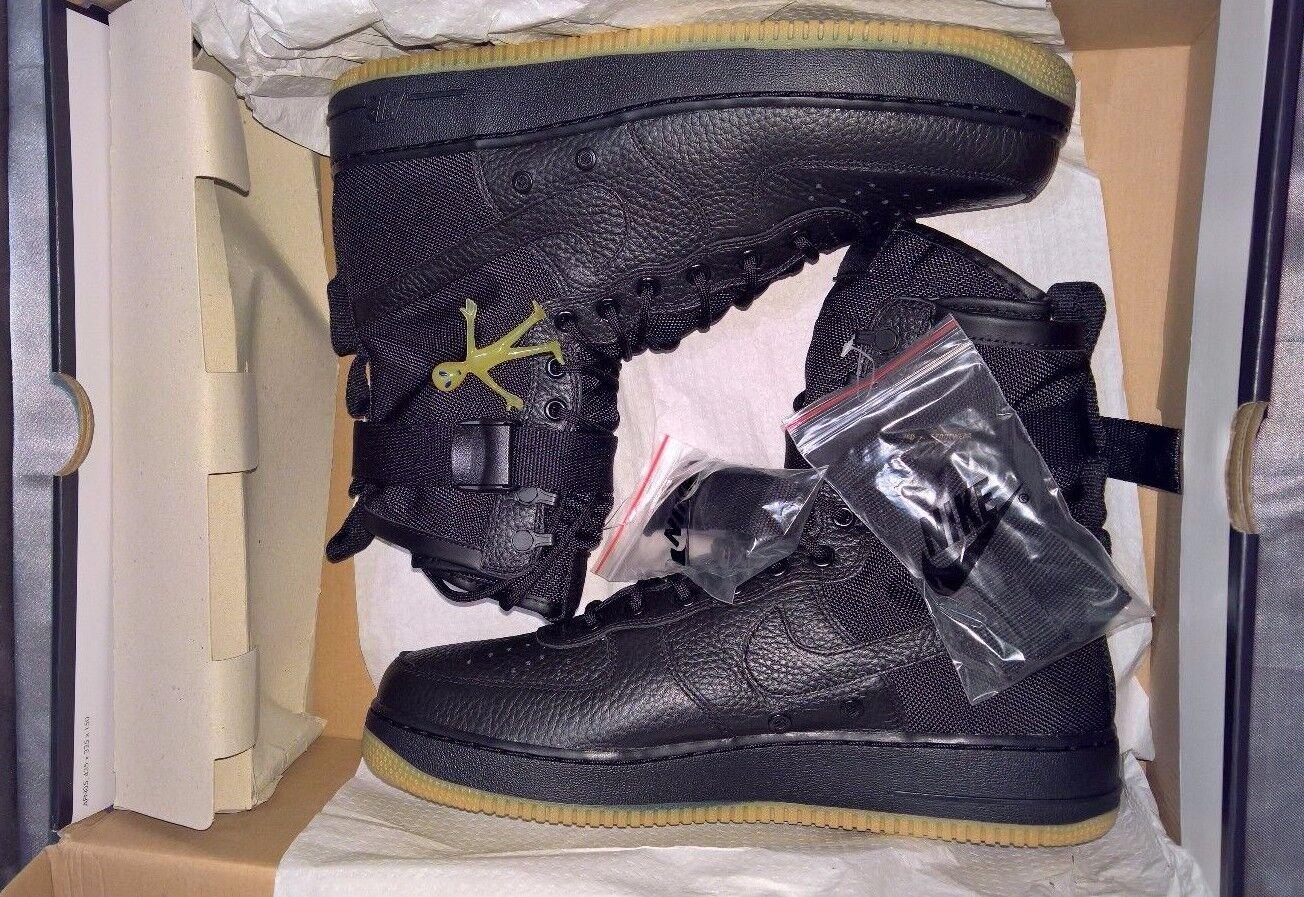Nike Hombres Air Force 1 fuerzas especiales de goma Negro Hombres Nike nosotros SZ 13 864024-001 bnib gran descuento f35cfd