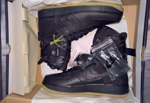 Sz 864024 Air Men's Special Black Gum Nike Force 13 Us 001 886736863047 Forces 1 Bnib PX08nwOk