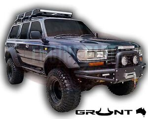 80 Series Bull Bar Toyota Landcruiser 80 Series Grunt 4x4