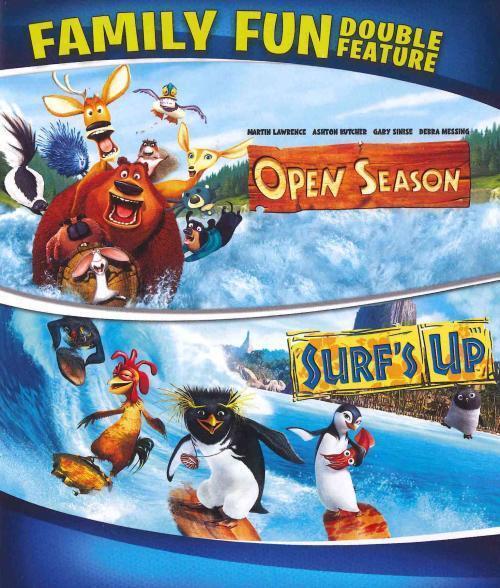 SURF'S UP/OPEN SEASON NEW BLU-RAY