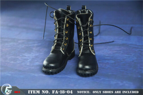 FASToys FA-18-04 1//6 Hand made leather Fashion Combat boots in stock