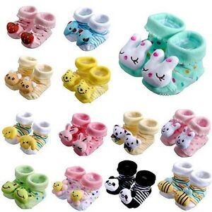 ... Unisex Indoor Anti-slip Warm Socks Animal Cartoon Shoes Boot | eBay
