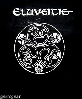 ELUVEITIE cd cvr HELVETIOS Official Black SHIRT Size XXL 2X New