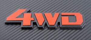 4WD-Badge