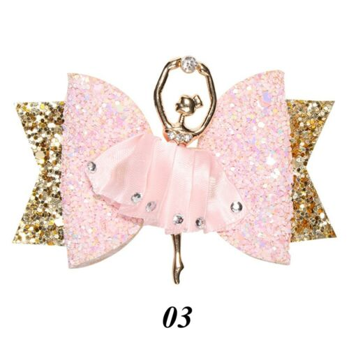 Accessories Bowknot Hairpin  Girl Headwear  Glitter Bow  Sequins Hair Clips