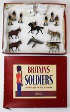 Britains  # 28 Royal Artillery Mountain Gun w/ Box