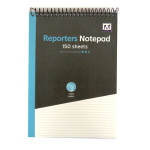 A5 Shorthand Reporters Notebook 5 Pack