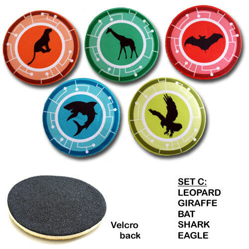 graphic about Wild Kratts Creature Power Discs Printable referred to as WILD KRATTS CREATURE Energy DISKS - Mounted OF 5 4\